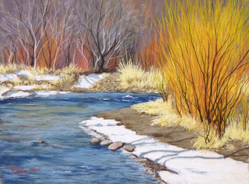 River Ablaze
