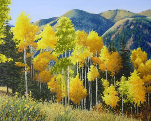 Hillside Delight - Nancy Wylie Artist